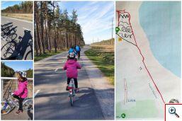 Jalgrattamatk ja GPS kunst piilud väike